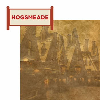 Wizarding World: Hogsmeade 2 Piece Laser Die Cut Kit