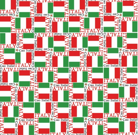 World Flags: Italy 12 x 12 Paper