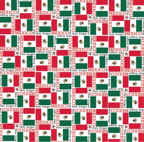 World Flags: Mexico 12 x 12 Paper