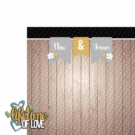 Years Together: Lifetime Love 2 Piece Laser Die Cut Kit