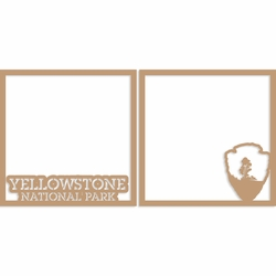 Yellowstone 12 x 12 Overlay Laser Die Cut