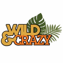 Zoo: Wild and Crazy Laser Die Cut