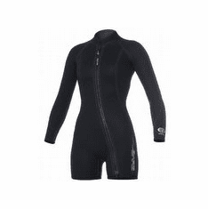 Bare 3mm Sport Step In Wetsuit Jacket - Womens XSmall (5 to 6)
