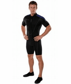 Henderson 3mm Thermoprene Front Zip Mens Shorty Wetsuit