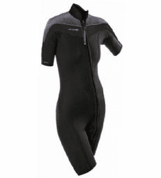 Henderson 3mm Womens Thermoprene Pro Front Zip Shorty Wetsuit