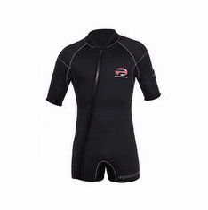 Pinnacle 5mm Escape 5 Front Zip Shorty Wetsuit - Black - Womens XSmall