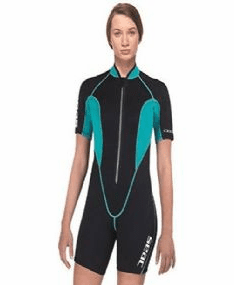 Seac 2.5mm Womens Ciao Shorty Wetsuit