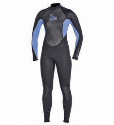 XCEL 3/2mm Thermolite Wetsuit - Black with Grey
