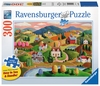 Rolling Hills Jigsaw Puzzle for Seniors