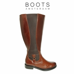 Aldridge Extra Wide Calf Extra Wide Calf Ladies Boot Cognac Old Bristol