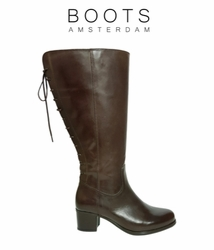 Amble Super Wide Calf Ladies Boot Espresso Old Bristol