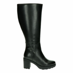 Bredon Extra Wide Calf Extra Wide Calf Ladies Boot Black Nappa Capri