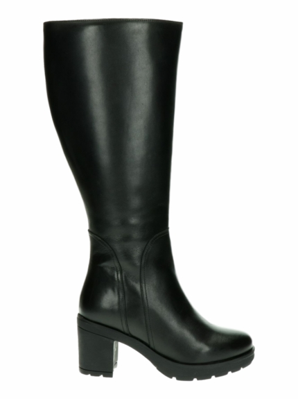Bredon Extra Wide Calf Ladies Boot Black Nappa Capri