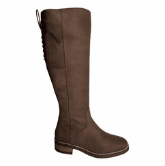 Burton Super Wide Calf Ladies Boot Espresso Grain Nubuck