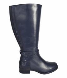 Buxton Extra Wide Calf Ladies Boot Ocean Silk