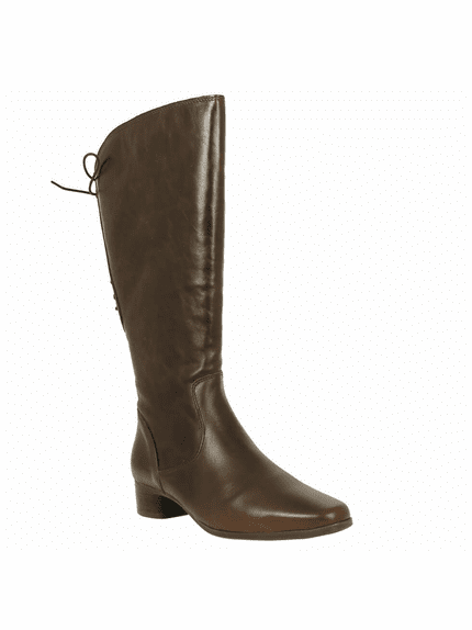Cardiff Super Wide Calf Ladies Boot Espresso Dream