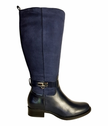 Cheddar Super Plus Wide Calf Super Plus Wide Calf Ladies Boot Ocean Street/Suede
