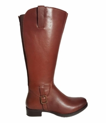 Chinley Super Plus Wide Calf Super Plus Wide Calf Ladies Boot Cognac Street