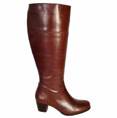 Ellon Extra Wide Calf Extra Wide Calf Ladies Boot Cognac Street