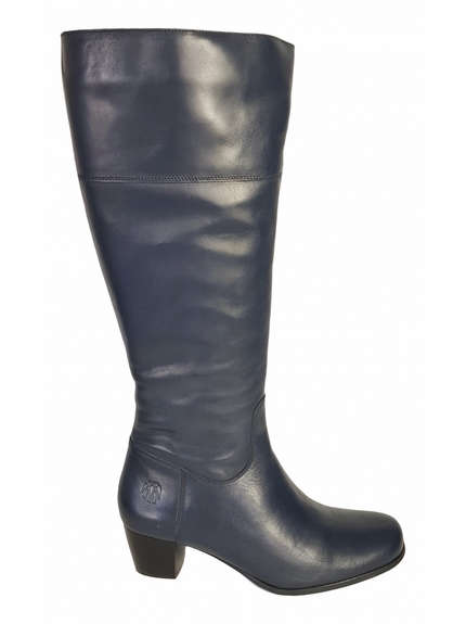 Ellon Wide Calf Wide Calf Ladies Boot Ocean Street