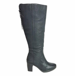 kopenhagen Extra Wide Calf Extra Wide Calf Ladies Boot Black Vintage