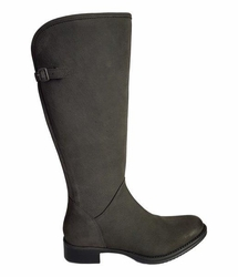 Kreta Extra Wide Calf Ladies Boot Asphalt Cow Grain