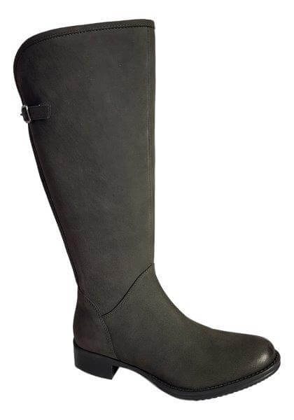 c551cbe3b17 Kreta Extra Wide Calf Ladies Boot Asphalt Cow Grain - Wide Calf ...