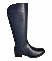 Kreta Extra Wide Calf Ladies Boot Ocean Silk