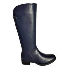 Kreta Super Wide Calf Ladies Boot Ocean Silk