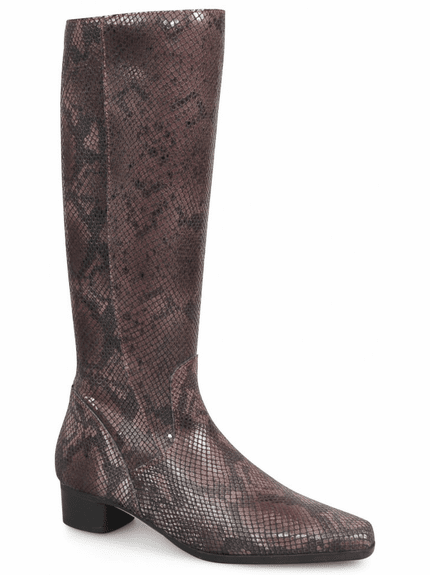 Lugano Extra Wide Calf Ladies Boot Bordo Sirbis