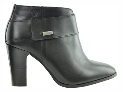 1f3203c9c Morgan Women's Extra Wide Fit Leather Ankle Dress Boot (Black) - FINAL SALE  ...