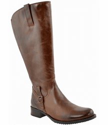 Sydney Wide Calf Ladies Boot Brown Dream