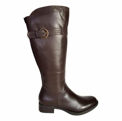 Victoria Extra Wide Calf Extra Wide Calf Ladies Boot Espresso Cow Nappa