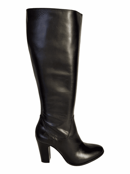 Wakefield Extra Wide Calf Ladies Boot Black Silk