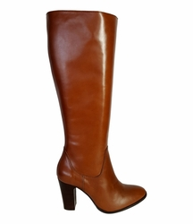 Wakefield Wide Calf Ladies Boot Cognac Street