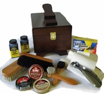 Deluxe  Shoe  Polish Shine  Kit