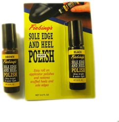 Fiebings Sole Edge and Heel Polish