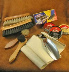 Shoe Shine Kit  Contents