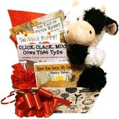 Baby Gift Basket Farm Friends: Unisex Design