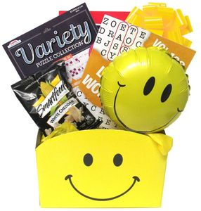 Cheer Up Get Well Gift Basket for Men and Women