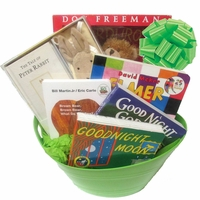Classic Baby Books Basket