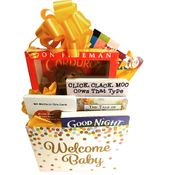Classic Baby Books Gift Basket Gender Neutral Design