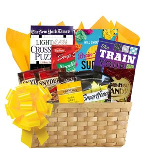Ultimate Puzzle Book Gift Basket