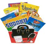 Get Well Toolkit with Soup, Crackers, Puzzle Books