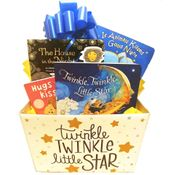 Good Nights Baby Gift Basket: Twinkle Little Star