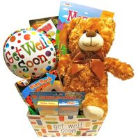 Kids Get Well Gift Basket: Activity Books for Boys and Girls