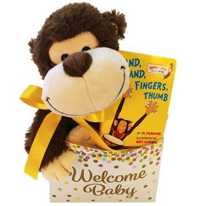 Charming Welcome Baby Gift Basket