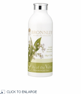 Bronnley Lily of the Valley Talcum Powder