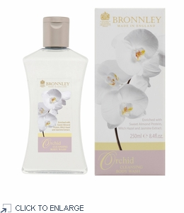 Bronnley Orchid Cleansing Body Wash - limited supply - 20% Off