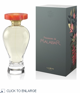 Lubin Les Princesses de Malabar Eau de Parfum 100ml Natural Spray